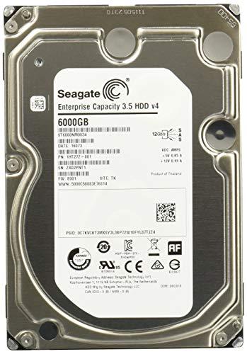 Seagate Enterprise Capacity 3.5 HDD 6TB 7200RPM 12Gb/s SAS 128 MB CacheInternal Bare Drive ST6000NM0034 - Sas Drives Hard Seagate