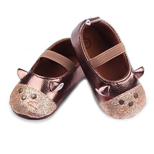 JIANGFU Mädchen Cartoon Katze Prinzessin Schuhe, Neugeborenes Baby-Karikatur-Katzen-Mode-Rutschfeste Weiche Schuhe Prinzessin Sneaker 11