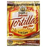 7'' La Tortilla Factory Whole Wheat Low Carb Tortillas (Regular Size) Pack of 5