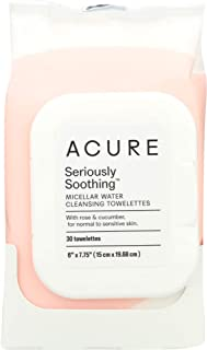 product image for (NOT A CASE) Soothing Micellar Water Cleansing Towelettes, 30 Towelletes
