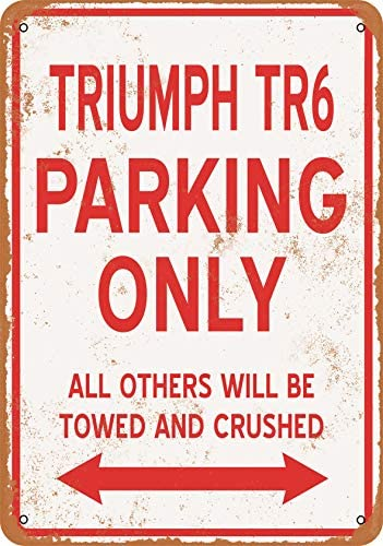 Wall Color 10 Metal Sign Triumph product image