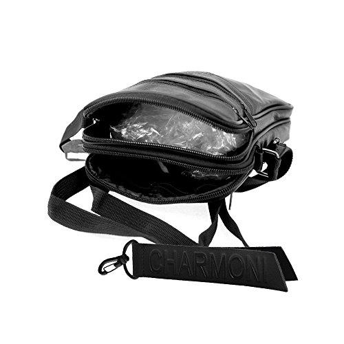 Men's Men's Black Men's Charmoni Bag Bag Charmoni Charmoni Shoulder Shoulder Black WI0Tqc4