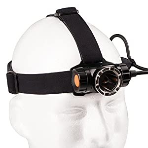 Guard Dog Security 1200 lm Headway Head Lamp, Black