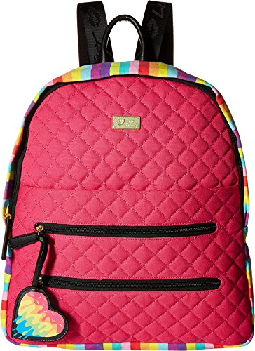 Bexxx Luv Faux Cotton Womens Backpack Betsey Green Multi 8x8EwRn