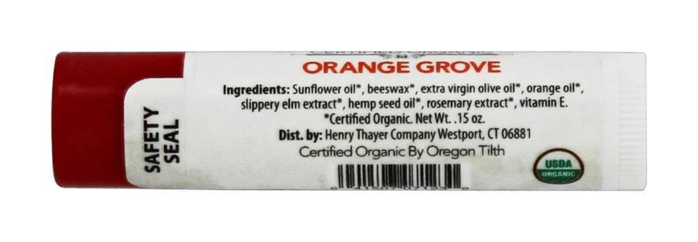 Thayers - Organic Slippery Elm Lip Balm Orange Grove - 0.15 oz. (pack of 4) St. Ives Radiant Skin Pink Lemon and Mandarin Orange Face Scrub, 6 oz, 4 count