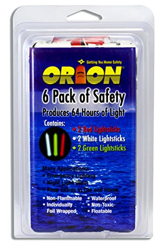 Orion Safety Products 506 Light Stick - Pack of 6 12 Gauge Aerial Handheld