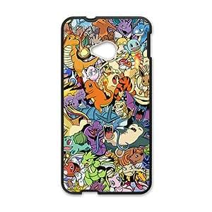 Happy Pokemon unique cartoon design fashion Cell Phone Case for HTC One M7