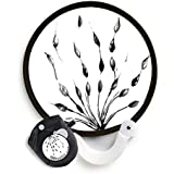 Alexx FANtastics Pop-Up Fan 04-014 Pop-Up Fan, Black and White