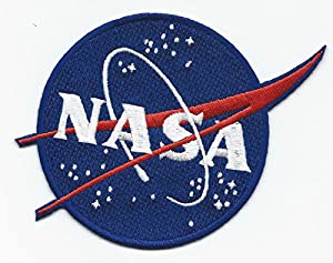 Amazon.com: Official NASA Vector Logo Patch