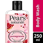 Pears Naturale Brightening Pomegranate Bodywash With Glycerine, Paraben Free, Soap Free, Eco Friendly, Dermatologically…