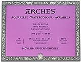 watercolor paper 140lb hot press - Arches Watercolor Paper Block, Hot Press, 11