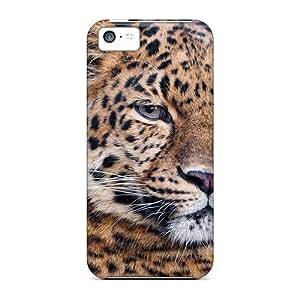 Excellent Design Another Beautiful Leopard Phone Case For Iphone 5c Premium Tpu Case