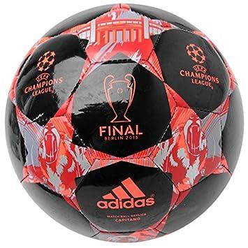 adidas 2015 Finale Berlin Capitano - un balón de fútbol 15 Negro y ...