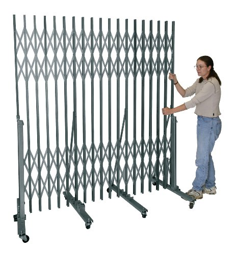 Gate Portable Superior - Hallowell P601-09 Superior Portable Gate for Corridor Widths 6'-0