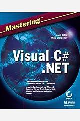 Mastering Visual C# .NET Paperback