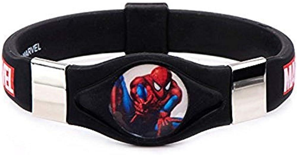 Deals Daily Marvel Spider-Man Silicone Bracelet