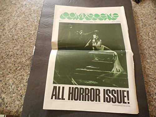 Comix Scene Comic Newspaper #3 Mar-Apr 1973 All Horror Issue