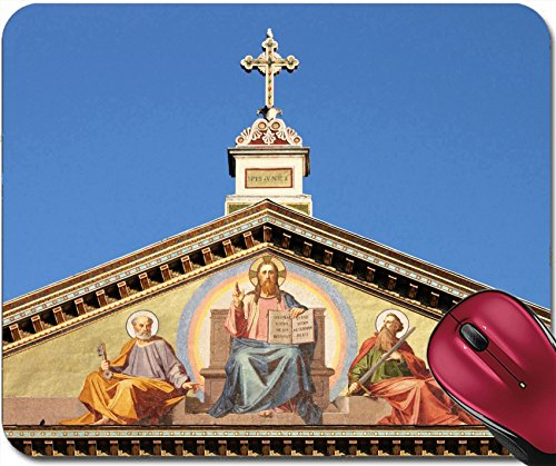 Liili Mousepad Basilica of Saint Paul outside the walls in Rome Italy Photo 12816641 - Basilica Outdoor Wall