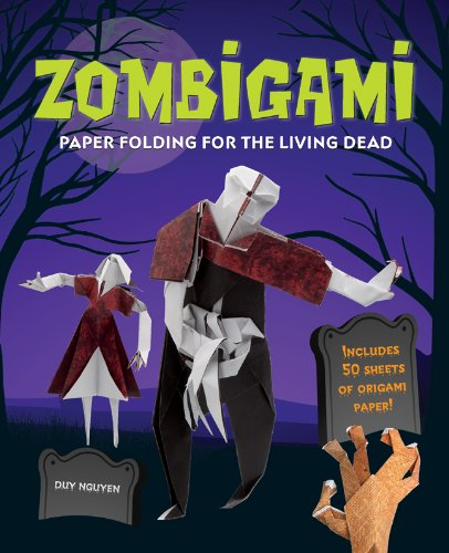 Zombigami: Paper Folding for the Living Dead (Sterling Children's Origami) -