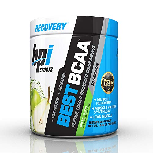 Bcaa Caps - BPI Sports Best BCAA - BCAA Powder - Branched Chain Amino Acids - Muscle Recovery - Muscle Protein Synthesis - Lean Muscle - Improved Performance - Hydration - Green Fusion - 30 Servings - 10.58 oz.