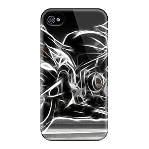 Premium 600rr Back Cover Snap On Case For Iphone 4/4s