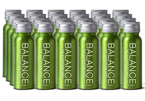 (Superfood Shot, Organic Blend of Fruits, Vegetables and Greens, Smoothie, Green Drink to Take on The Go, Juice Cleanse, 2oz. Serving, Vegan, Gluten-Free (24 Pack))
