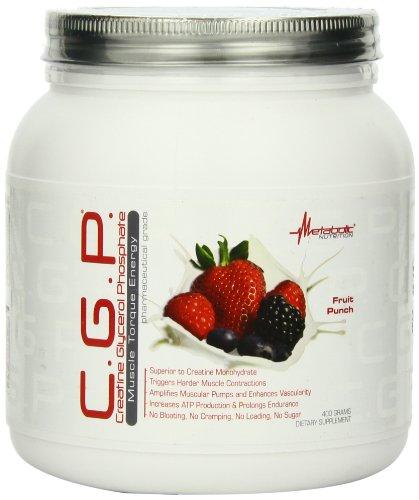 Nutrition métabolique CGP diète supplément poudre, Fruit Punch 400 grammes