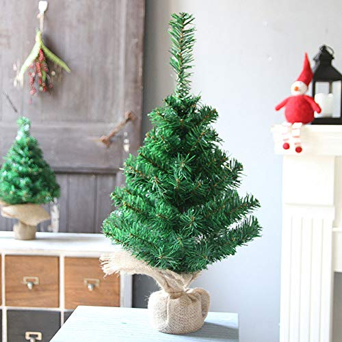 Clearance Tabletop Christmas Tree, Inkach Mini Artificial Spruce Tree Ornament Home Decorations Xmas Gift (L) by Inkach - Christmas Tree (Image #1)