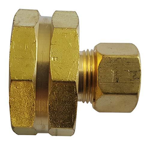Threaded Adapter Brass - 1 PIECE XFITTING 3/8