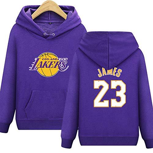 Bryant Lunga Da Calcio Lakers Uomo 23 Neck Felpa Shocly James Round Pallacanestro No Purple Manica Angeles Los Kobe Per Club ZF6nw8q