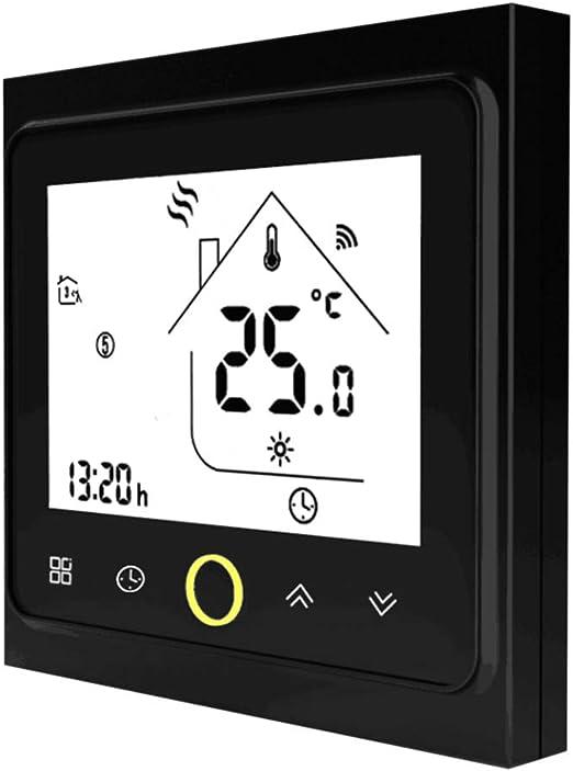 Smart Wifi Thermostat,f/ür individuelle Gas- Funktioniert mit  Alexa Wasserkesselheizung Google-Startseite und IFTTT 5A Dry Contact