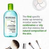 Bioderma Sebium H2O Micellar Water, Cleansing and Make-Up Removing Solution.