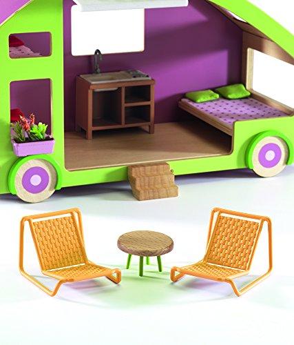 Puppenhaus Wohnwagen