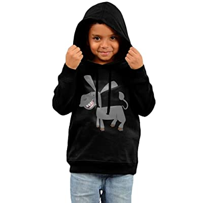 Baby Clothes Hooded Sweatshirt, Donkey Cotton Infant Hoodie Tops For Boy Girls