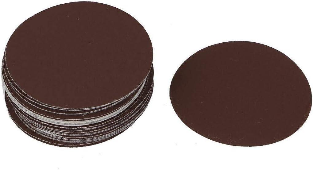 Schleifscheiben 75mm Klett Exzenter Schleifpapier Schleifbl/ätter Korn 320 50 St/ück