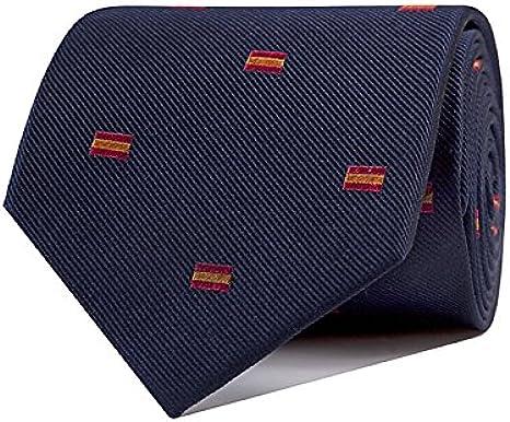 SoloGemelos - Corbata España - Azul, Rojo, Amarillo, Multicolor ...