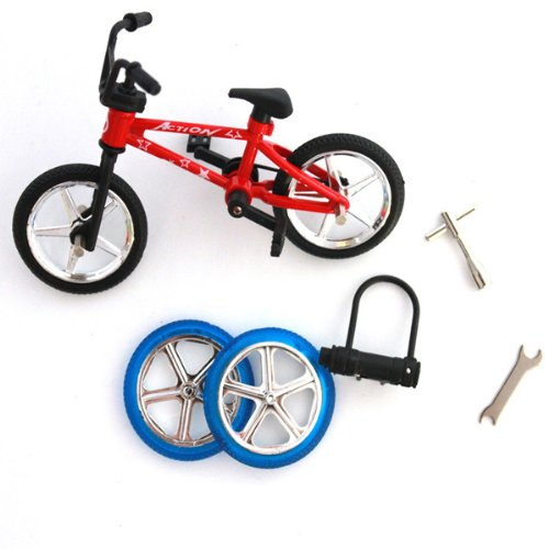 Finger Bicycle Bike Mini Toy Alloy Multi-color Kids Gift sports Big Bargain