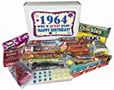 53rd Birthday Basket Gift Box of Nostalgic Retro Candy for a 53 Year Old Man or Woman Born in 1964 - '60s Jr