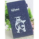 Multifunctional Cool Pencil Case Pencil Pouch Mobile Phone Bag Charm Wallet for Anime Tonari no Totoro