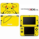Pokemon Pikachu Decorative Video Game Decal Skin Sticker Cover for Nintendo 3DS XL