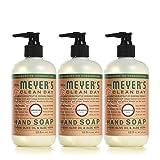 Mrs. Meyer´s Clean Day Hand Soap, Geranium, 12.5 fl oz, 3 ct