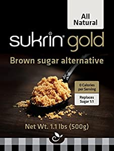 Sukrin Gold - 1.1 lb All Natural Brown Sugar Substitute