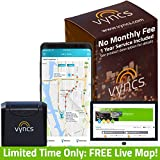 VYNCS Premium: No Monthly Fees Connected Car OBD 3G Vehicle GPS Tracking, Teen Driver Safety, Car Health, Fuel Consumption, Emission, Roadside Assistance and Optional Remote Start VPOBDGPS1
