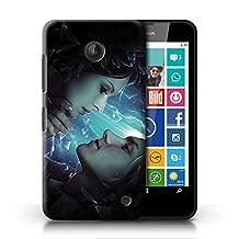 Official Elena Dudina Phone Case / Cover for Nokia Lumia 635 / Broken Glass Design / Love Art Collection