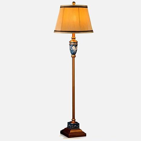 Lámpara de pie, FUFU European Vase Lamp Living Room American ...