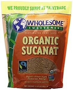 Wholesome Sweeteners, Sucanat, Organic, 2 lb