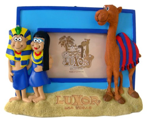 Luxor Las Vegas Picture Frame - Desert Tour Photo Frame with a Camel