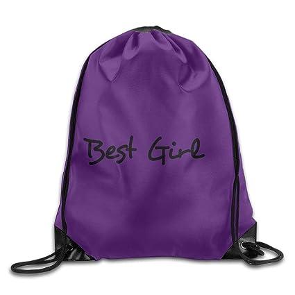 37a804f0ec6c Amazon.com: Drawstring Bag Gym Bag Travel Backpack Purple Lavender ...