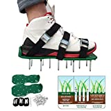 Lawn Aerator Shoes, Aluminum Alloy Buckles Spiked