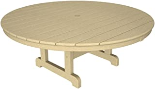 """product image for Trex Outdoor Furniture Cape Cod Round 48"""" Conversation Table in Sand Castle"""